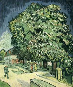 Vincent Van Gogh - Chestnut Tree In Blossom III