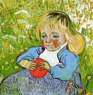 Vincent Van Gogh - Child With Orange