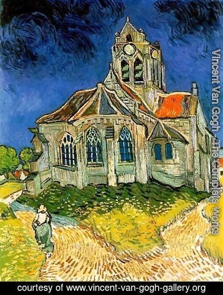 Vincent Van Gogh - The Church At Auvers