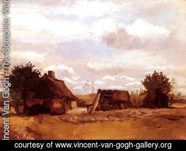 Vincent Van Gogh - Cottage II