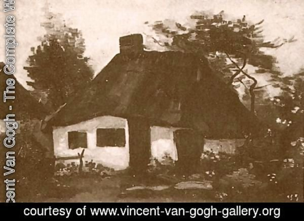 Vincent Van Gogh - Cottage With Trees