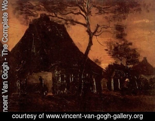 Vincent Van Gogh - Cottage With Trees III