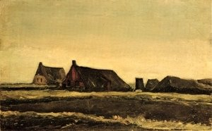 Vincent Van Gogh - Cottages