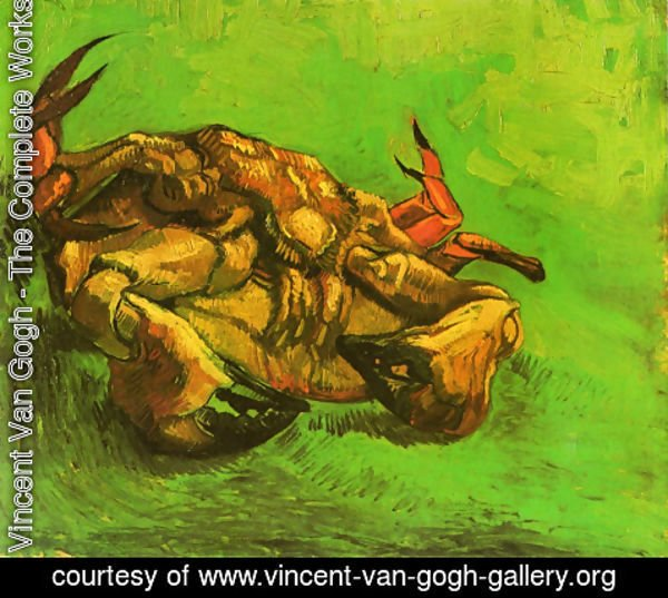 Vincent Van Gogh - Crab On Its Back