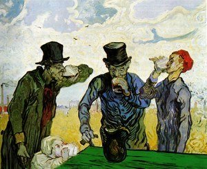 Vincent Van Gogh - The Drinkers
