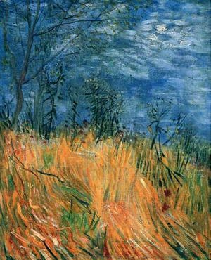 Vincent Van Gogh - Edge Of A Wheatfield With Poppies