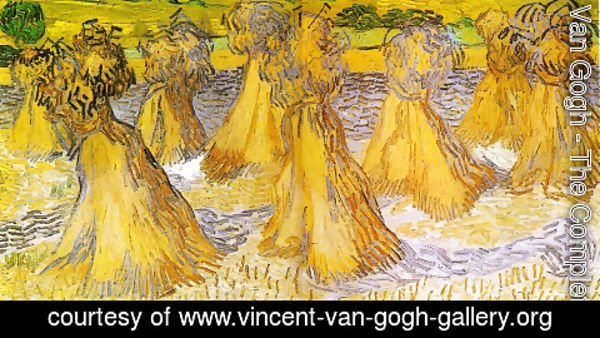 Vincent Van Gogh - Field With Stacks Of Wheat