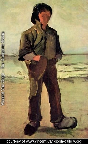 Vincent Van Gogh - Fisherman On The Beach