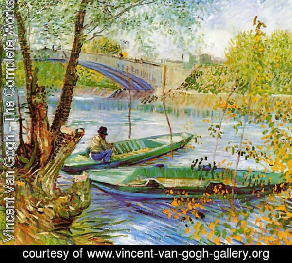 Vincent Van Gogh - Fishing In Spring