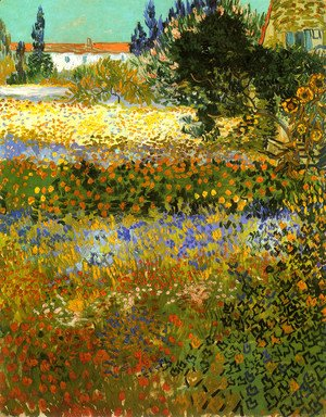 Vincent Van Gogh - Flowering Garden