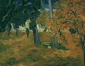 Vincent Van Gogh - Garden Of Saint Paul Hospital The V