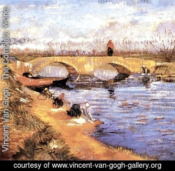 Vincent Van Gogh - The Gleize Bridge Over The Vigueirat Canal