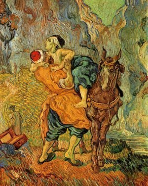 Vincent Van Gogh - The Good Samaritan (after Delacroix)