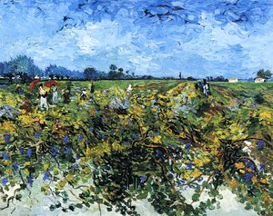 Vincent Van Gogh - The Green Vineyard
