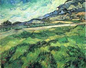Vincent Van Gogh - Green Wheat Field