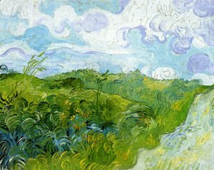 Vincent Van Gogh - Green Wheat Fields