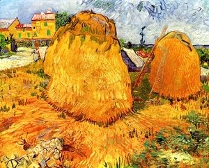 Vincent Van Gogh - Haystacks In Provence