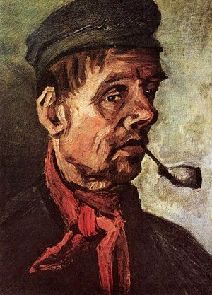 Vincent Van Gogh - Head Of A Peasant With A Pipe