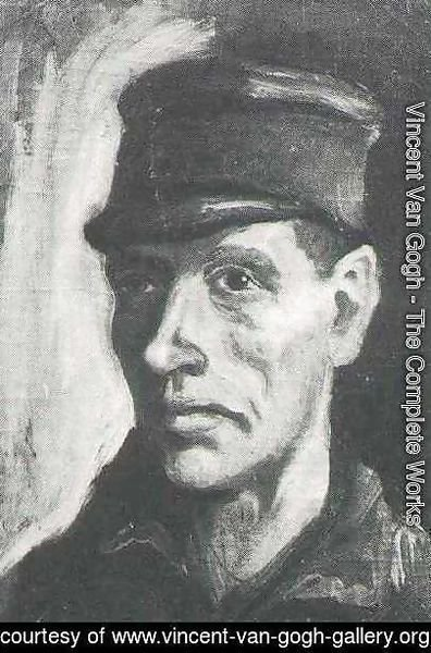 Vincent Van Gogh - Head Of A Peasant With Cap II