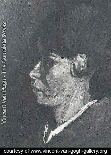 Vincent Van Gogh - Head Of A Peasant Woman II