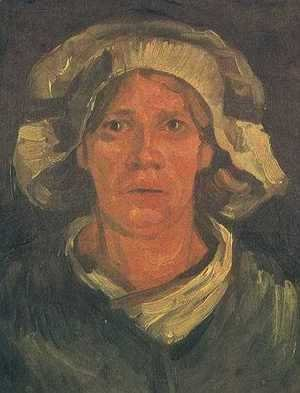 Vincent Van Gogh - Head Of A Peasant Woman With White Cap V