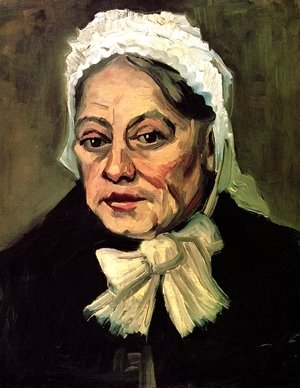 Vincent Van Gogh - Head Of An Old Woman With White Cap (The Midwife)