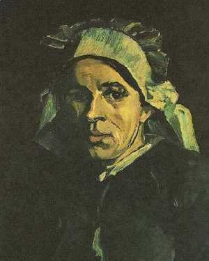 Vincent Van Gogh - Head Of A Woman IV