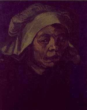 Vincent Van Gogh - Head Of A Woman V