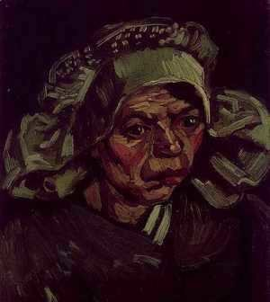Vincent Van Gogh - Head Of A Woman VI