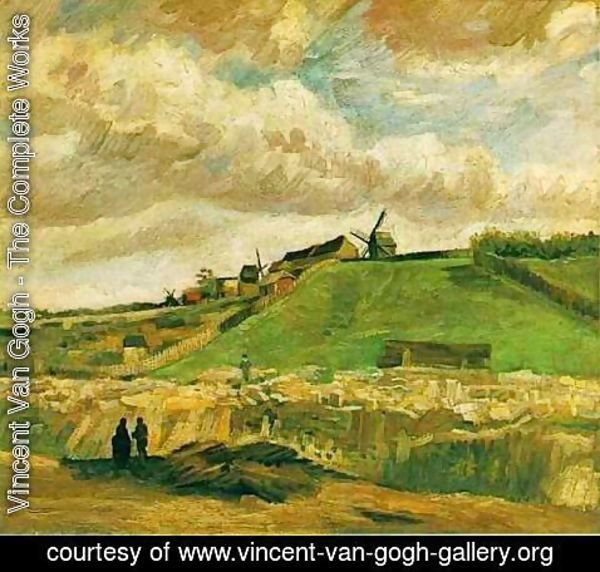 Vincent Van Gogh - The Hill Of Montmartre With Quarry