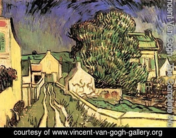 Vincent Van Gogh - The House Of Pere Pilon