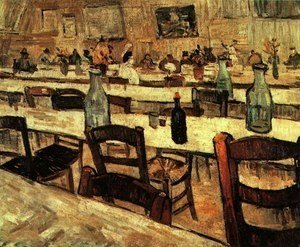 Vincent Van Gogh - Interior Of A Restaurant In Arles