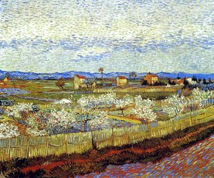 Vincent Van Gogh - La Crau With Peach Trees In Blossom