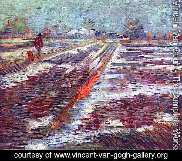Vincent Van Gogh - Landscape With Snow