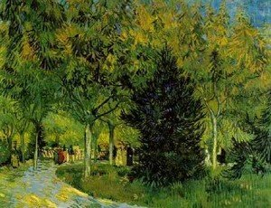 Lane In The Public Garden At Arles A