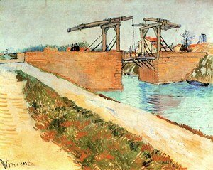 Vincent Van Gogh - The Langlois Bridge At Arles With Road Alongside The Canal