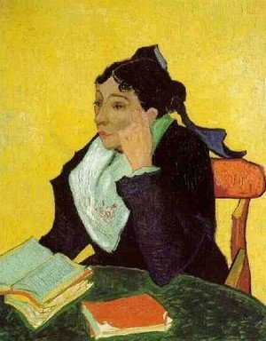 Vincent Van Gogh - LArlesienne: Madame Ginoux With Books