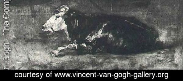 Vincent Van Gogh - Lying Cow II