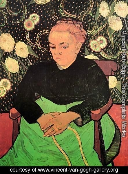 Vincent Van Gogh - Madame Roulin Rocking The Cradle (La Berceuse)