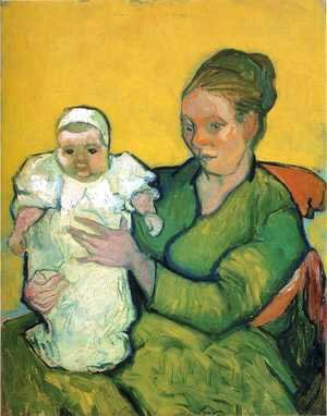 Vincent Van Gogh - Mother Roulin With Her Baby