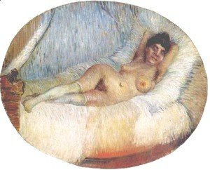 Vincent Van Gogh - Nude Woman On A Bed