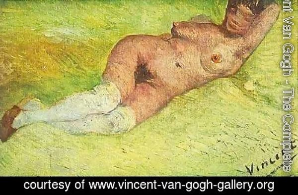 Vincent Van Gogh - Nude Woman Reclining