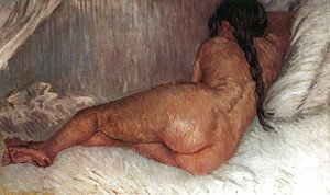 Vincent Van Gogh - Nude Woman Reclining Seen From The Back