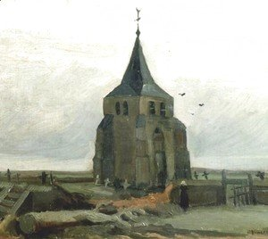 Vincent Van Gogh - Old Church Tower At Nuenen The II