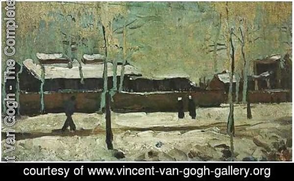 Vincent Van Gogh - The Old Station At Eindhoven