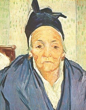 Vincent Van Gogh - Old Woman Of Arles An