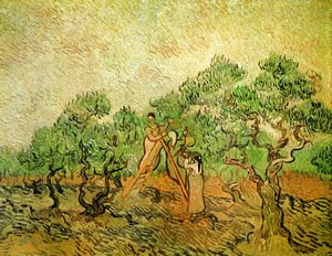 Vincent Van Gogh - Olive Picking III