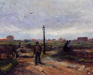 Vincent Van Gogh - Outskirts Of Paris