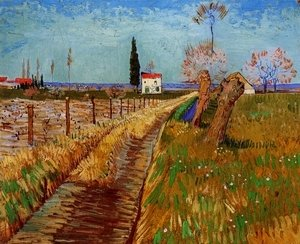 Vincent Van Gogh - Path Through A Field With Willows