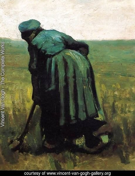 Peasant Woman Digging III